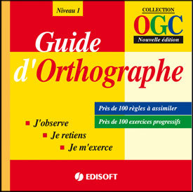 Guide dOthographe  by  EDISOFT Maroc