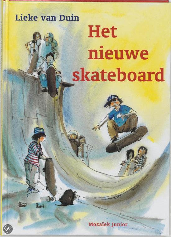 Het nieuwe skateboard  by  Lieke van Duin