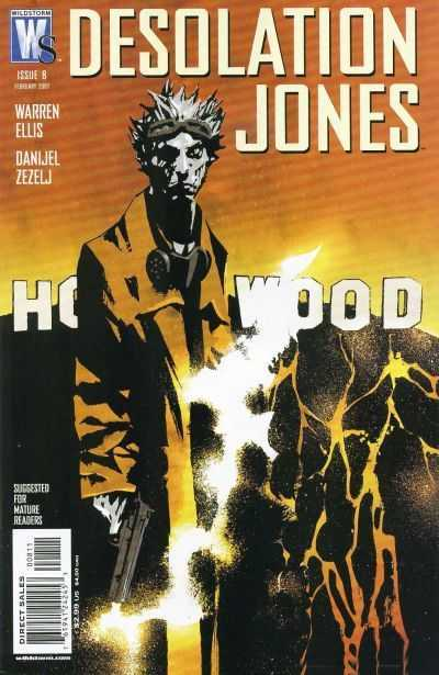 Desolation Jones #8 Warren Ellis