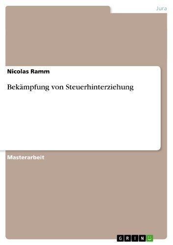 Bekämpfung von Steuerhinterziehung  by  Nicolas Ramm