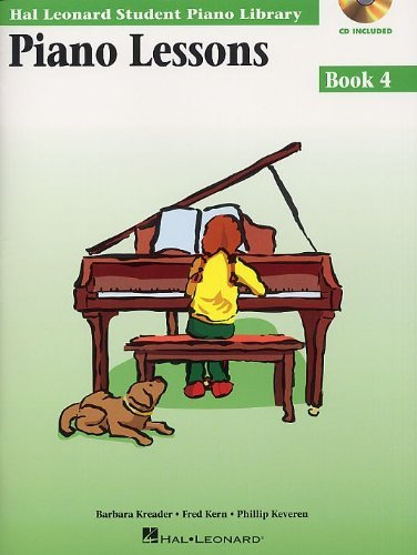 HAL LEONARD STUDENT PIANO LIBRARY PIANO LESSONS BOOK 4 (BOOK/CD) PF  by  Various