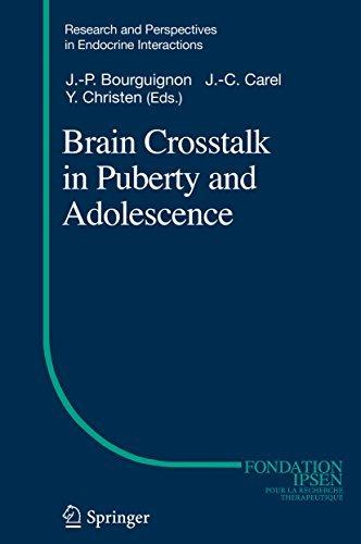 Brain Crosstalk in Puberty and Adolescence  by  Jean-Pierre Bourguignon