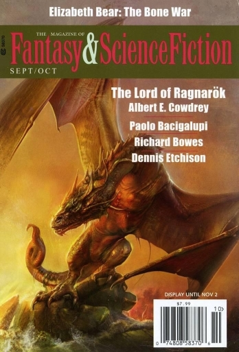 Magazine of Fantasy and Science Fiction September/October 2015  by  C.C. Finlay