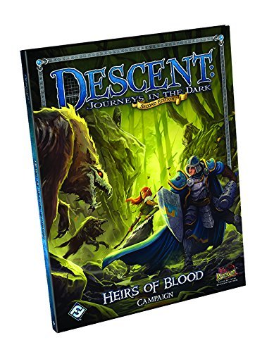 Descent Journeys in the Dark: Heirs of Blood Campaign Book  by  Fantasy Flight Games