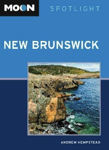 Moon Spotlight New Brunswick  by  Andrew Hempstead