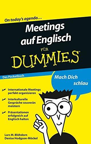 Meetings auf Englisch für Dummies Lars M. Blöhdorn