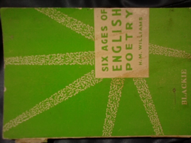 Six Ages of English Poetry  by  Haydn Moore Williams