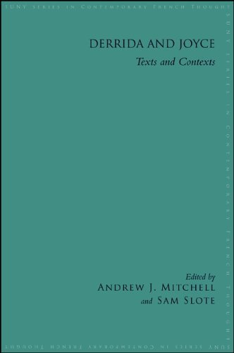 Derrida and Joyce (Suny Series in Contemporary French Thought) Andrew J. Mitchell