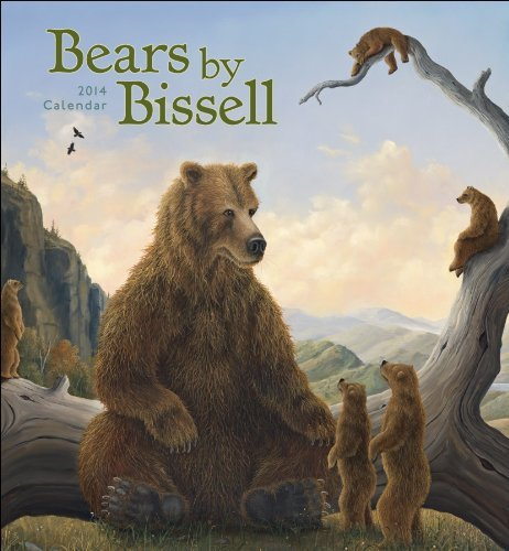 2014 BEARS BY BISSELL CALENDAR Wall N421 Robert Bissell