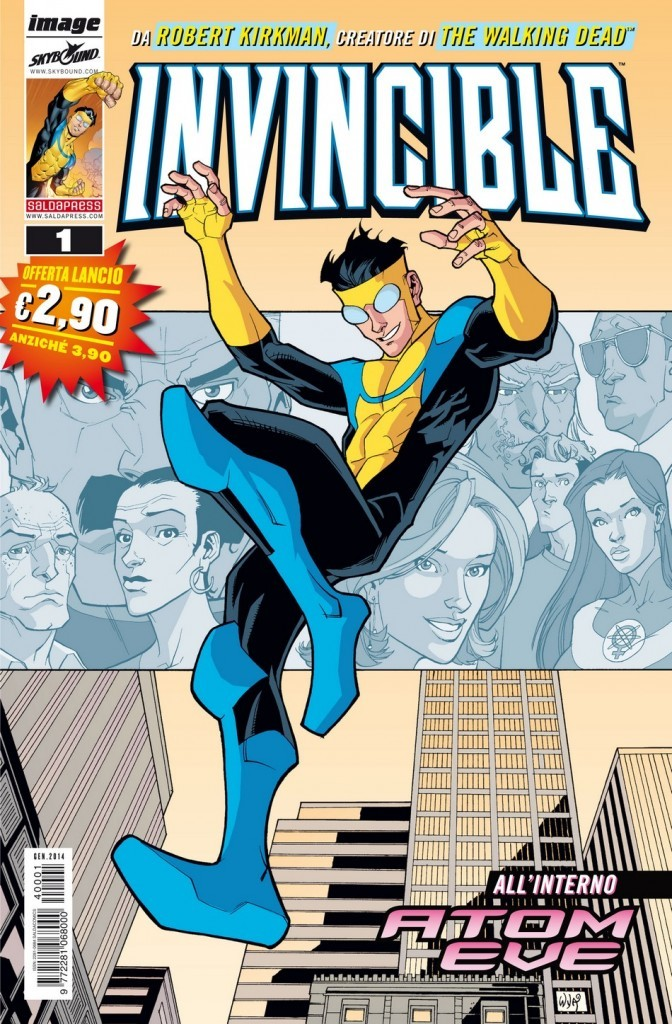 Invincible n. 1 Robert Kirkman