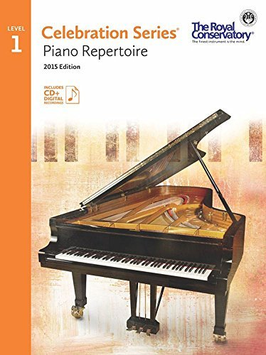 C5R01 - Royal Conservatory Celebration Series Piano Repertoire Level 1 Book/CD 2015 Edition Royal Conservatory