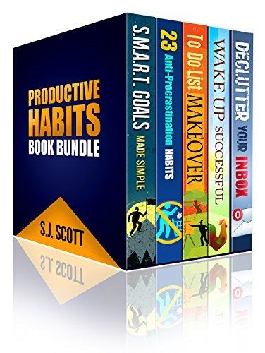 Productive Habits Book Bundle (Books 1-5)  by  S.J. Scott