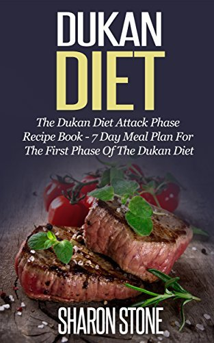 Dukan Diet: The Dukan Diet Attack Phase Recipe Book - 7 Day Meal Plan For The First Phase Of The Dukan Diet Sharon Stone