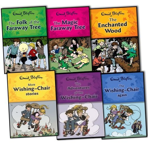 Enid Blyton Wishing Chair and Faraway Tree Series 6 Books Collection Pack Set RRP: £35.94 Enid Blyton