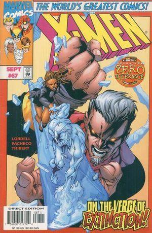 X-Men Vol. 2 #67 Scott Lobdell