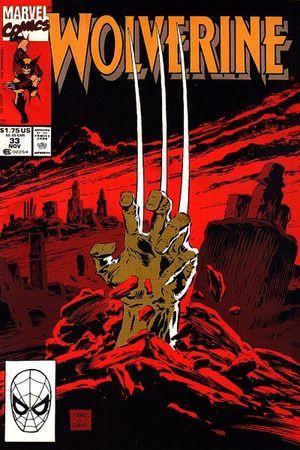 Wolverine Vol 2 #33 Larry Hama