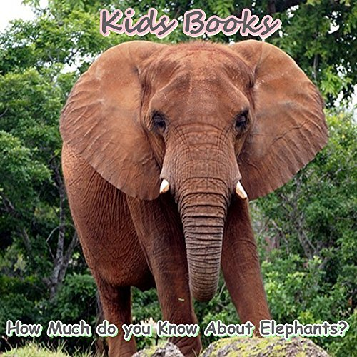 Kids Books: How Much do you Know About Elephants (Version 2015)  by  Puppy P.