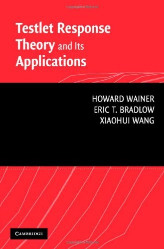 Testlet Response Theory and Its Applications  by  Howard Wainer
