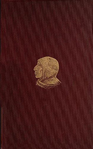 Jerome Savonarola: A Sketch Rev J. L. ONeil O.P.