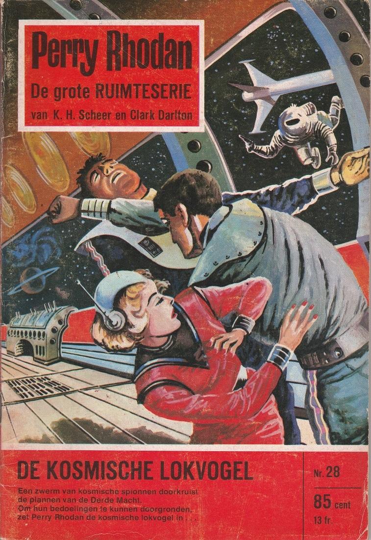 De kosmische lokvogel (Perry Rhodan NL, #28) Karl-Herbert Scheer