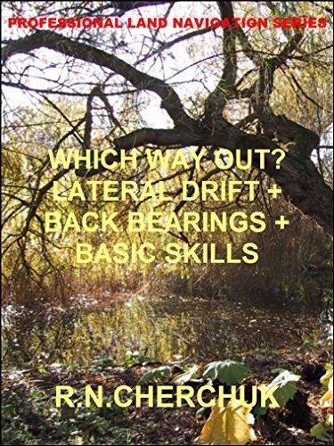 WHICH WAY OUT? - Lateral Drift + Back Bearings + Basic Skills (Professional Land Navigation Skills 8) R.N. Cherchuk