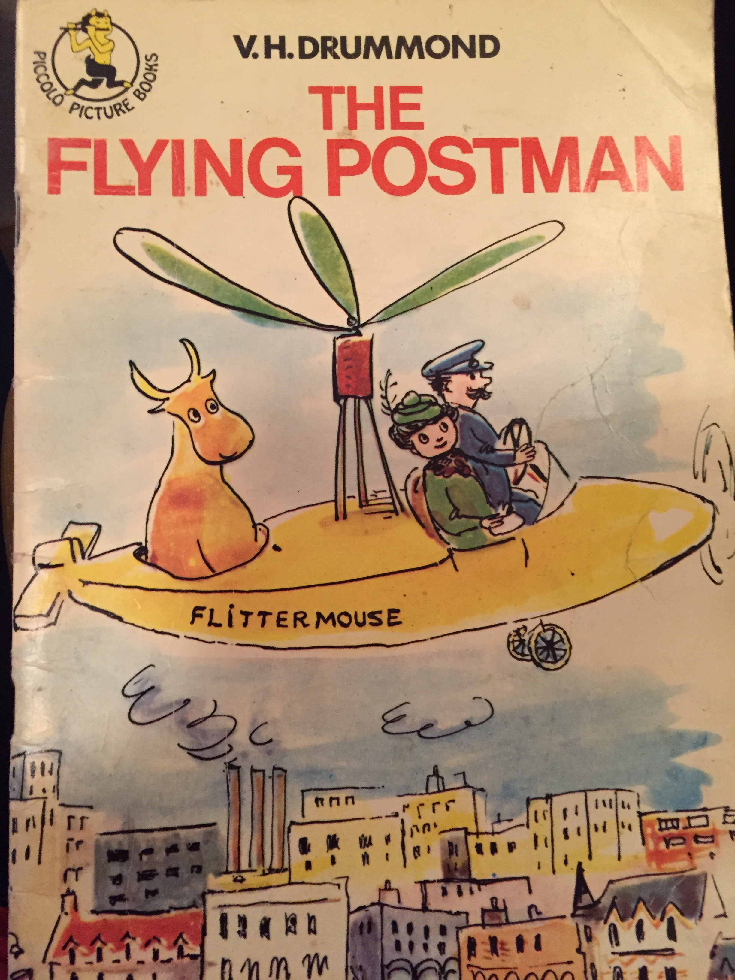 The Flying Postman  by  V.H. Drummond