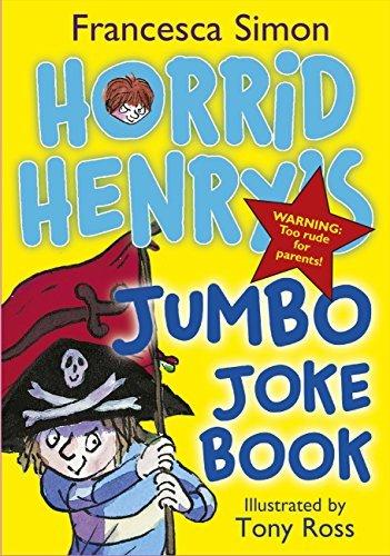 Horrid Henrys Jumbo Joke Book (3-in-1) Francesca Simon