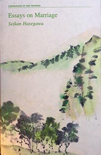 Essays on Marriage Seikan Hasegawa