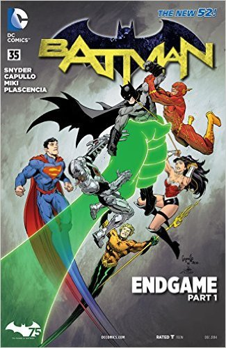 Batman Endgame Part 1 Scott Snyder