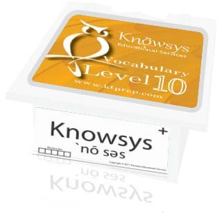 Knowsys Vocab Flashcards Level 10  by  Knowsys Educational Services LLC