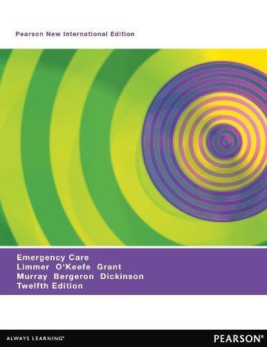 Emergency Care: Pearson New International Edition  by  Daniel J. Limmer