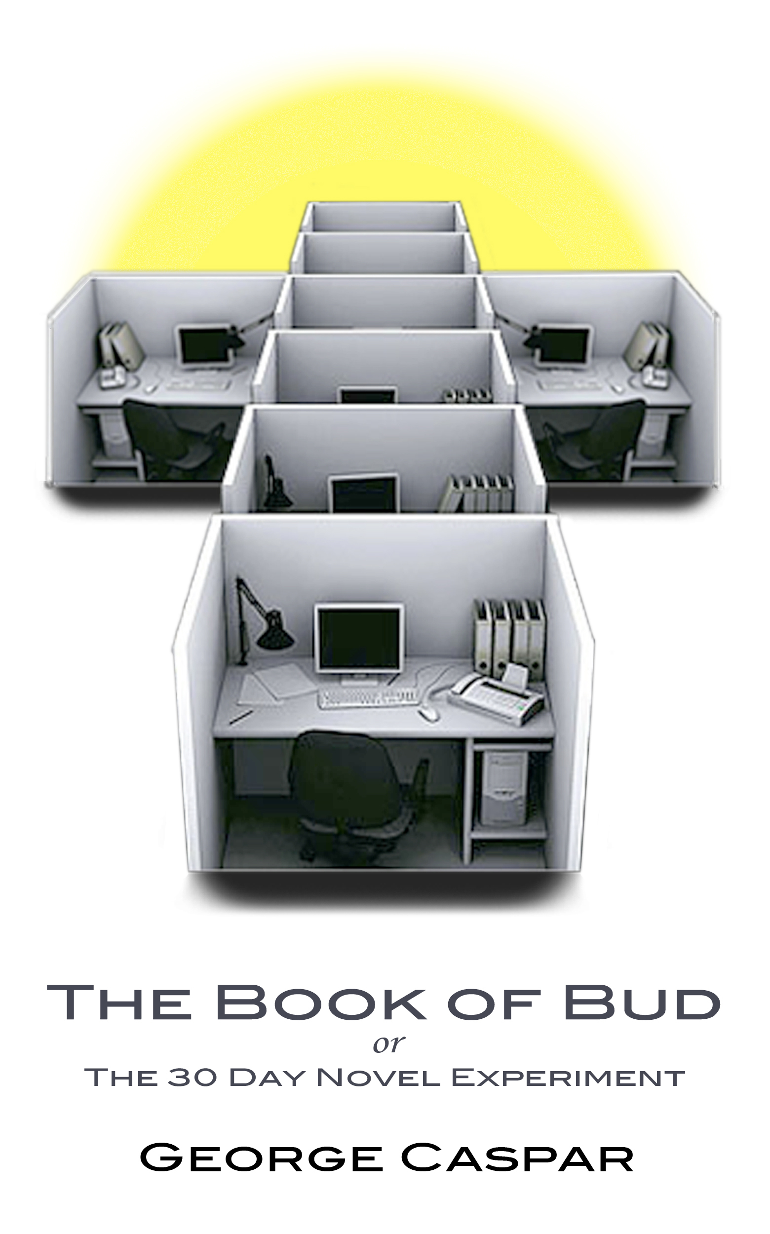 The Book of Bud or The Thirty Day Novel Experiment  by  George Caspar