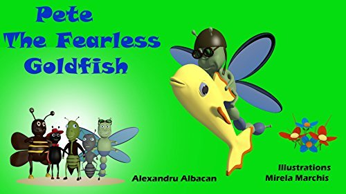 Pete The Fearless Goldfish  by  Alexandru Albacan