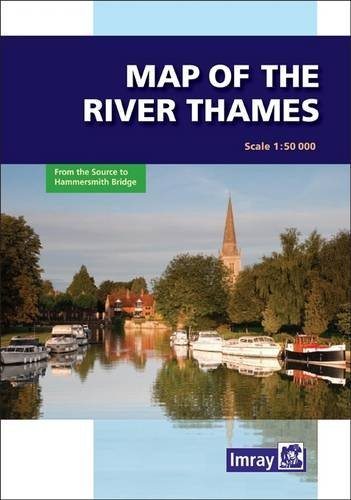 River Thames Map  by  Imray