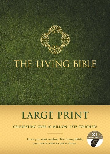 The Living Bible Large Print Edition Anonymous