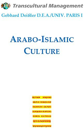 Arabo-Islamic Culture Gebhard Deissler