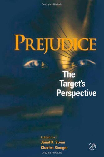 Prejudice: The Targets Perspective  by  Janet K. Swim