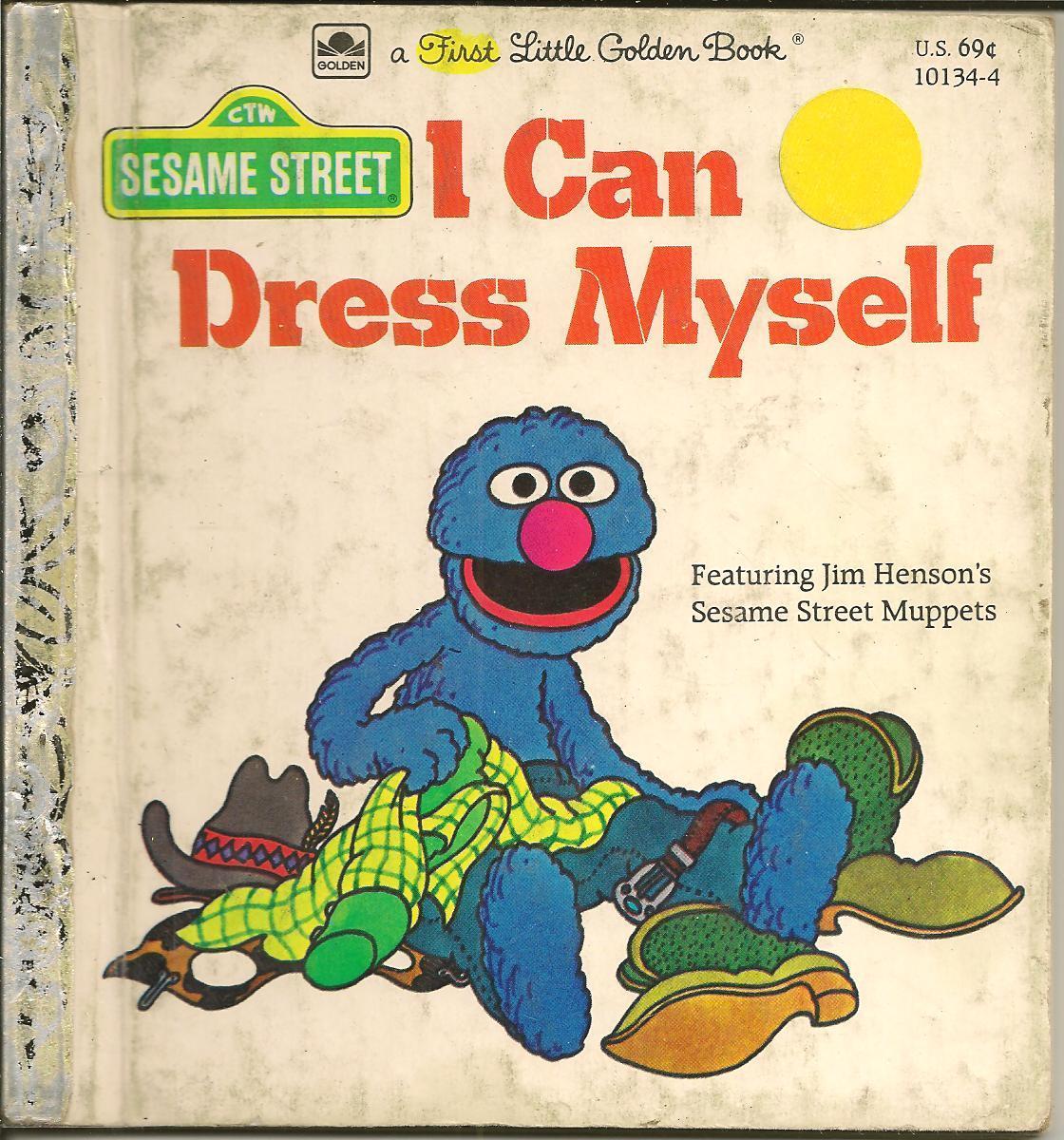 I Can Dress Myself (a First Little Golden Book)  by  Anna H. Dickson
