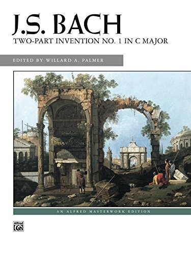 2-Part Invention No. 1 in C Major: Intermediate Piano Solo  by  Johann Sebastian Bach