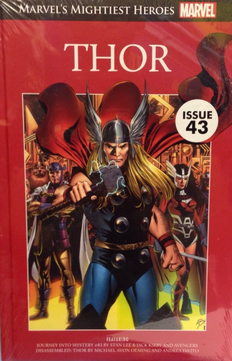 Thor (Marvels Mightiest Heroes Graphic Novel Collection #11)  by  Stan Lee