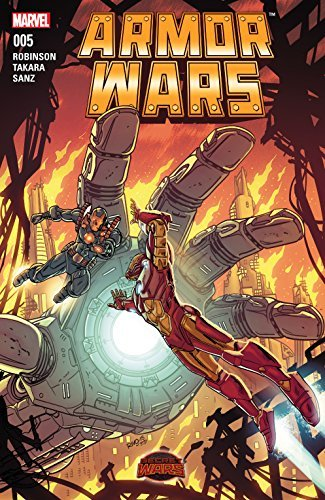 Armor Wars (2015) #5  by  James Robinson