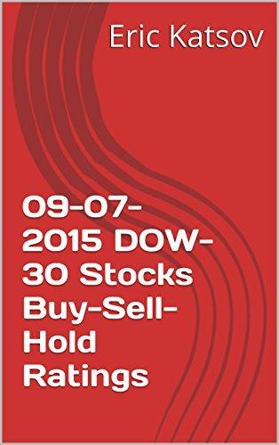09-07-2015 DOW-30 Stocks Buy-Sell-Hold Ratings Eric Katsov