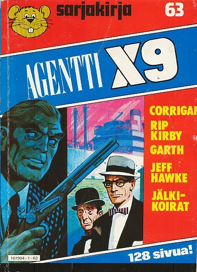 Agentti X9  by  Archie Goodwin