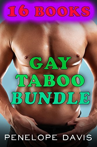 EROTICA: Gay Taboo Bundle (16 Books Bundle M/M First Time Romance)  by  Penelope Davis