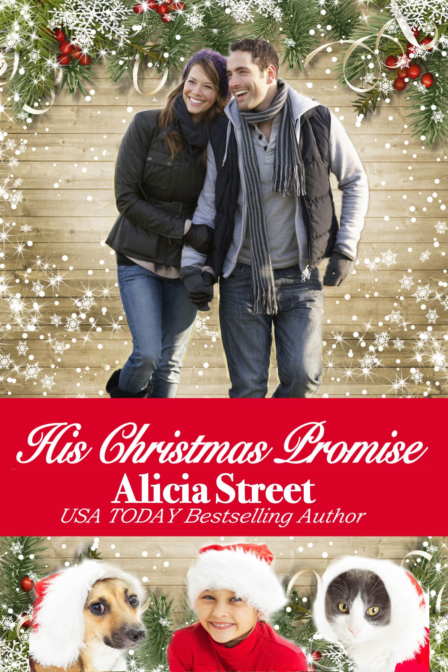 His Christmas Promise  by  Alicia Street