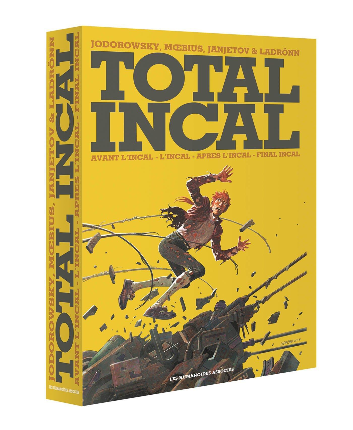 Total Incal (Coffret): Avant LIncal - LIncal - Apres LIncal - Final Incal Alejandro Jodorowsky