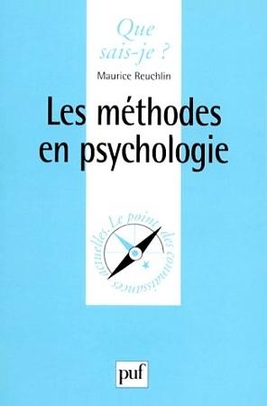 Les méthodes en psychologie  by  Maurice Reuchlin