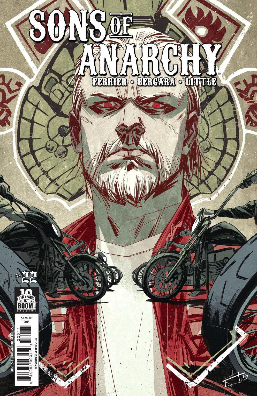 Sons of Anarchy #22  by  Ryan Ferrier
