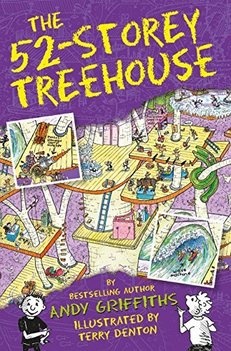 The 52-Storey Treehouse (The Treehouse Books Book 4) Andy Griffiths