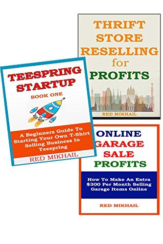 3 in 1 Business Opportunity Bundle: Thrift Store + Teespring (tshirt selling) + Online Garage Sale  by  Red M
